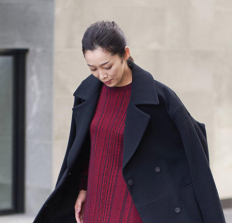 LAM WOOL COAT